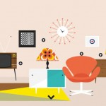 Fun Infographic: Furniture Design Through the Decades