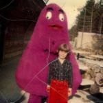 Grimace vs. Barney