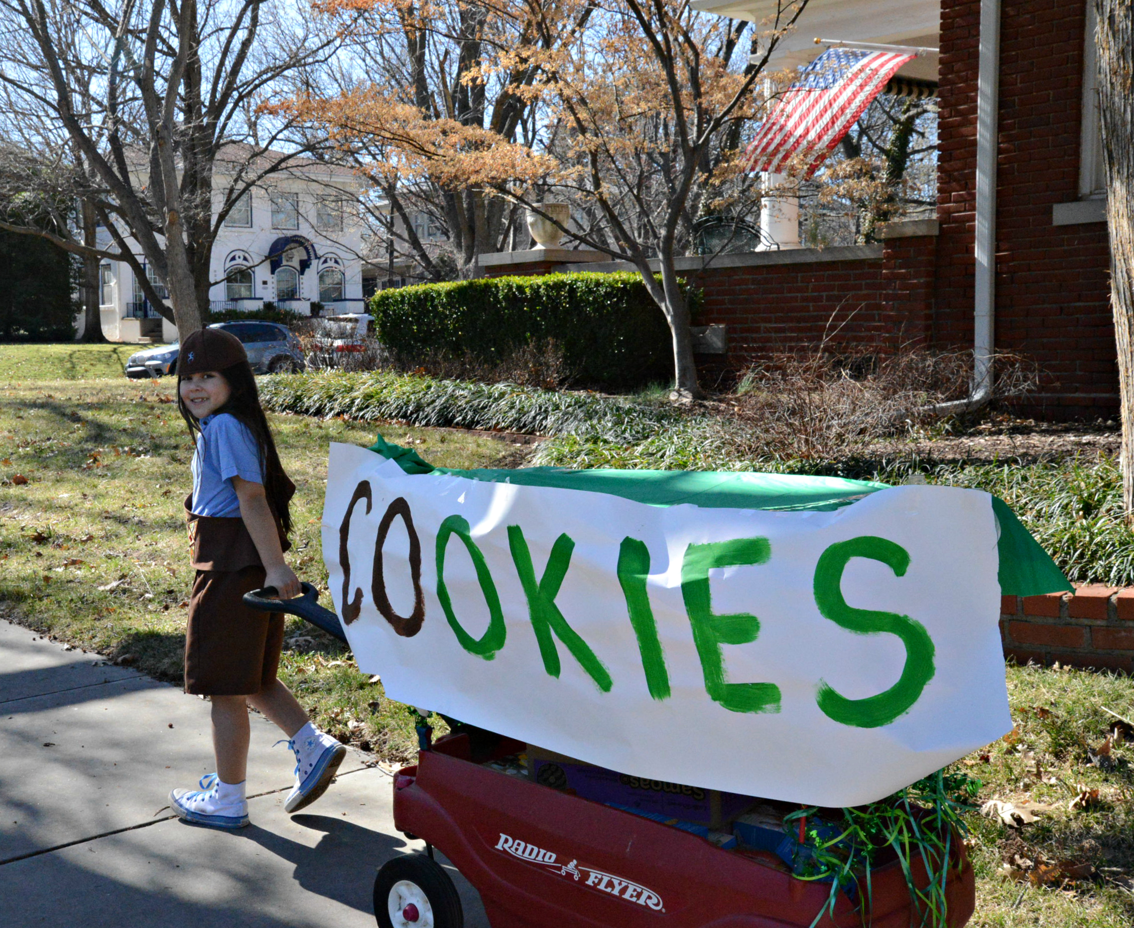 Selling Girl Scout Cookies