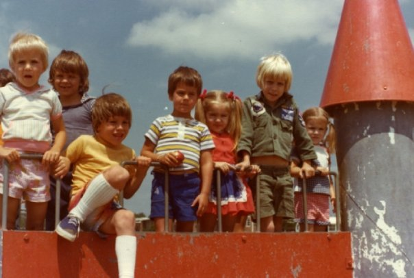 1970s playground equipment and Generation X