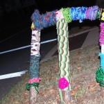 Yarn Guerrilla Art on the streets of OKC