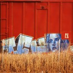 This Oklahoma Life: Face On A Train, Railroad Graffiti