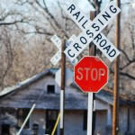 This Oklahoma Life: Route 66 Railroad Crossing