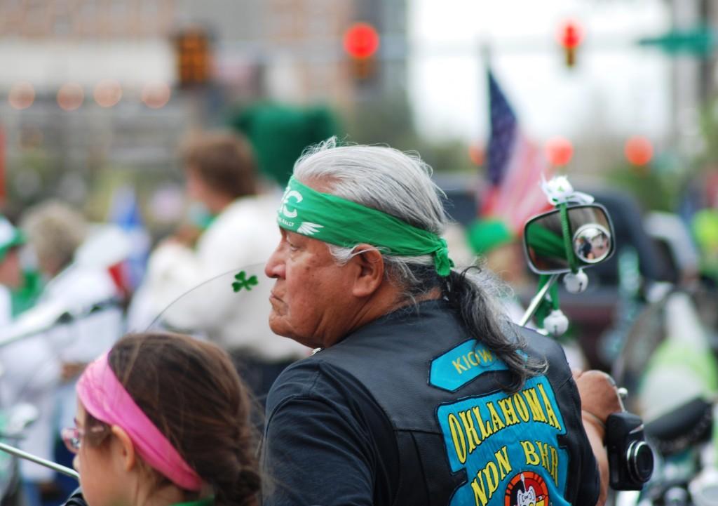 Oklahoma Kiowa and Irish