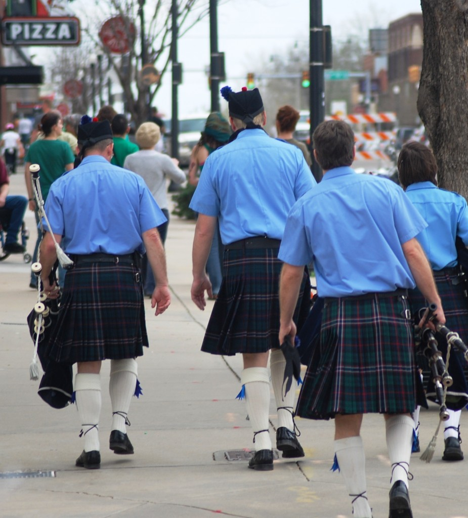 Men in Kilts Parade
