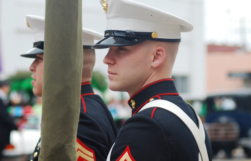 Marines at a Parade
