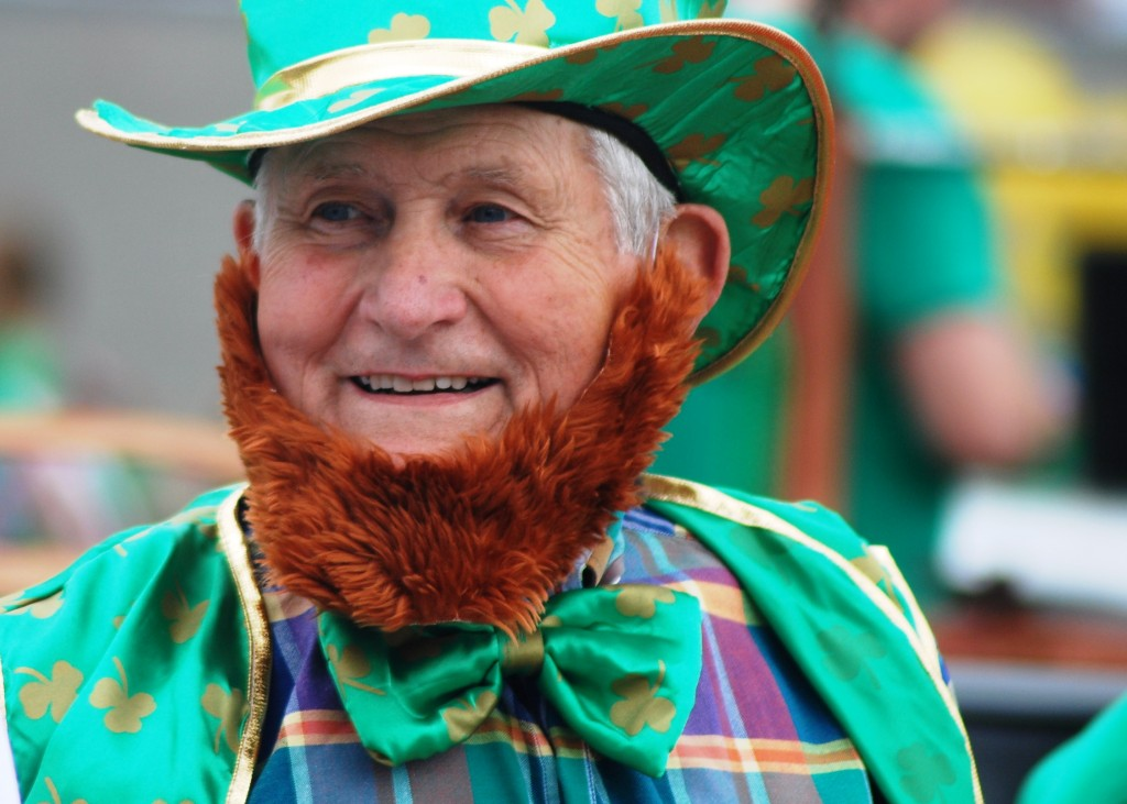 St. Patrick's Day Red Beard Leprechaun