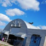 Blue Sky, Quonset Hut