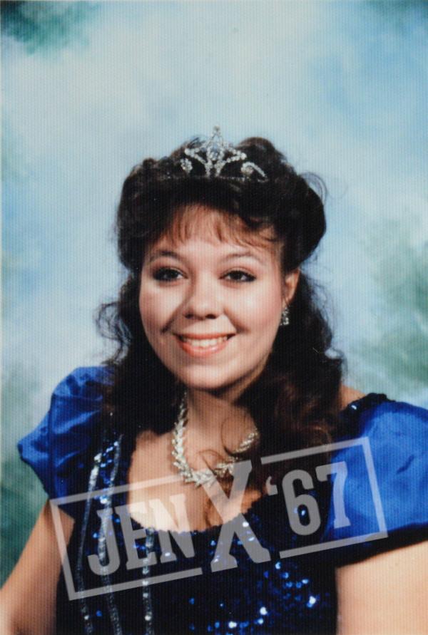 1980s Prom Queen 1985