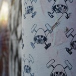 Gas Masks, Graffiti Stencils and John Fekner