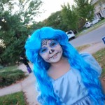 Blue Hair, Day of the Dead