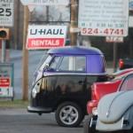 Purple VW Van