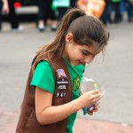 Brownies at a Parade