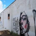 Okla Home Land and I Love You Graffiti