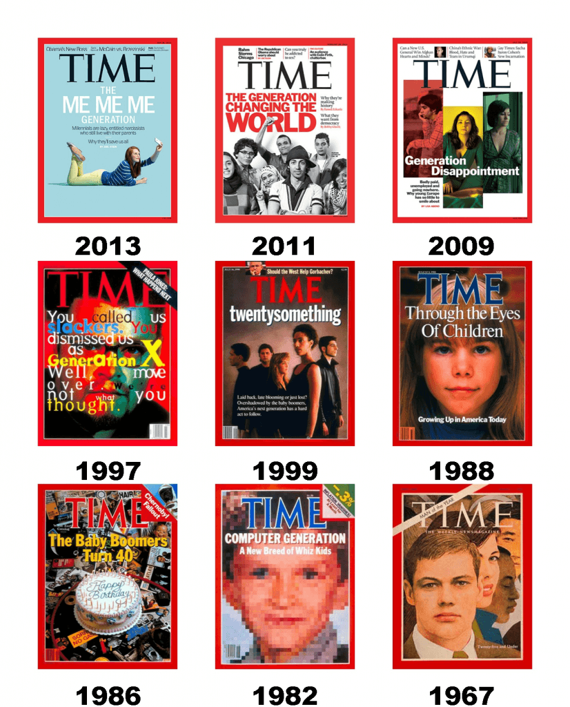Time Magazine Covers Generation