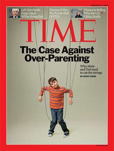 Time Magazine Helicopter Parents