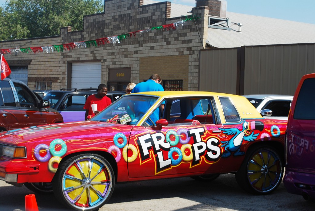 Froot Loop Donk Car