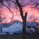 Pink and Purple Sunset Oklahoma