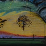 Oklahoma Tornado Mural