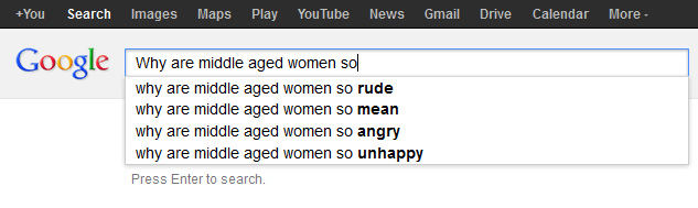 Why are middle aged women so