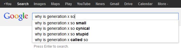 Why is Generaiton X So