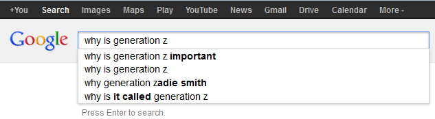 why is generation z