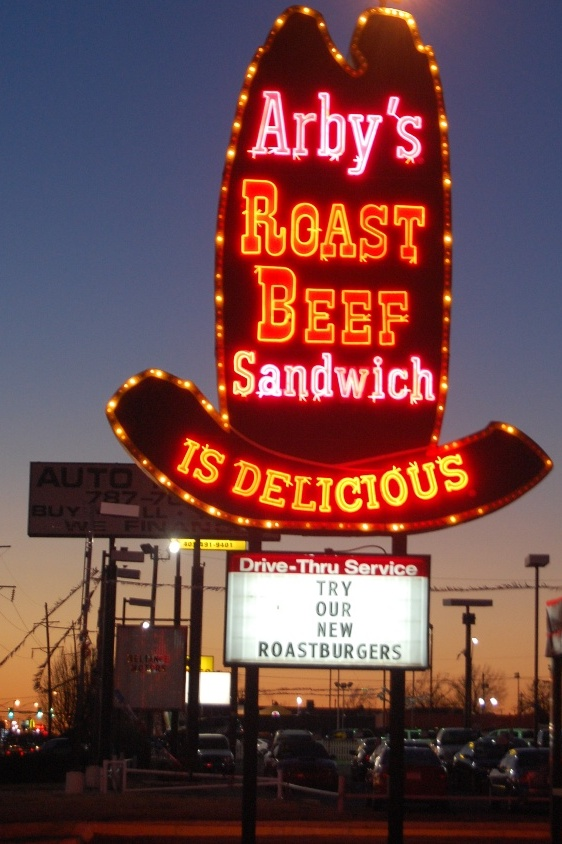 Vintage Arby's Sign on Route 66 in Oklahoma City