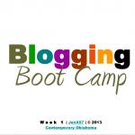 Blogging Bootcamp Presentations