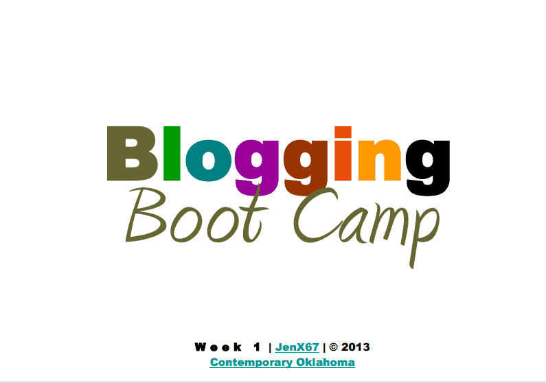 Blogging Bootcamp Course