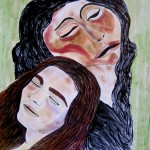 Mother of Missing Son August Reiger Paints Stunning Self-Son Portraits
