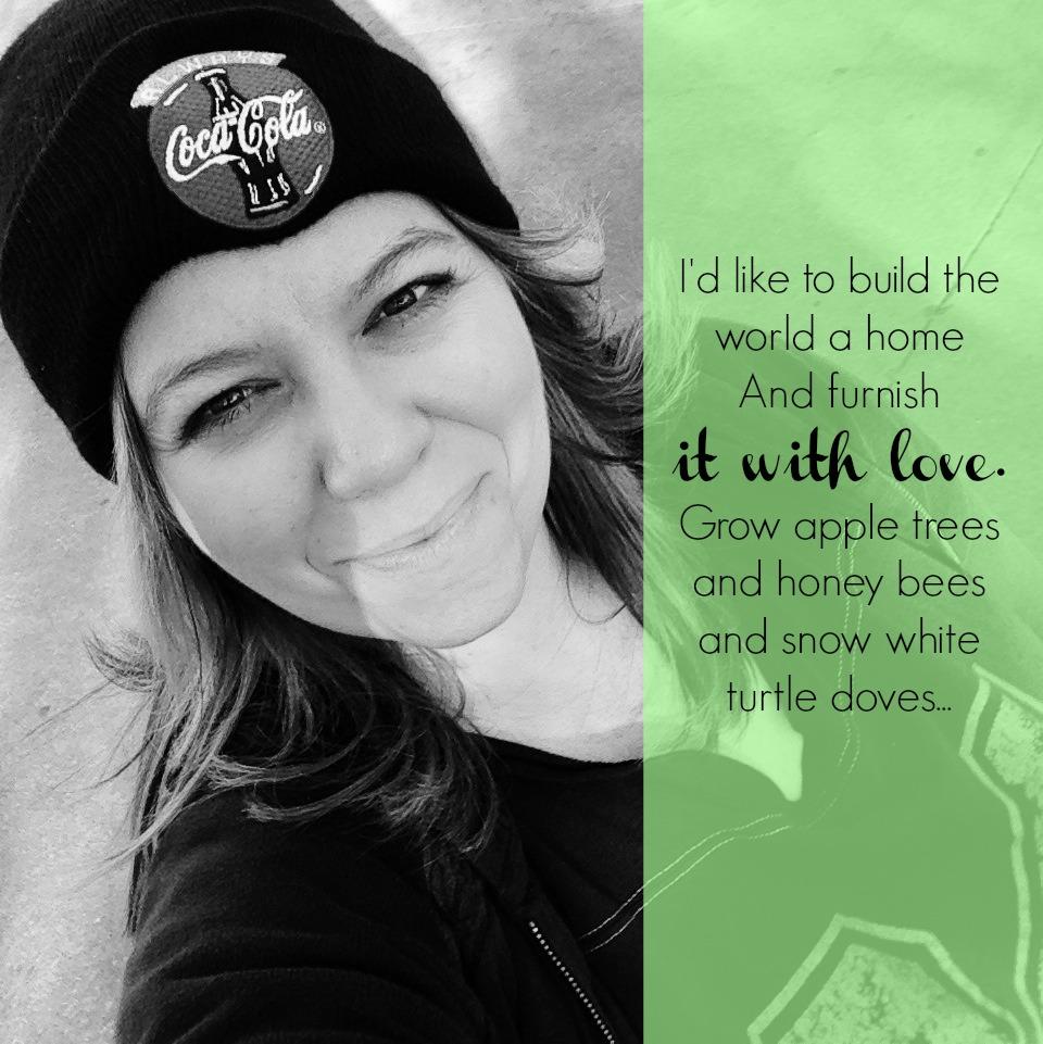 I'd like to build the world a home