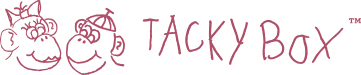 tacky box logo