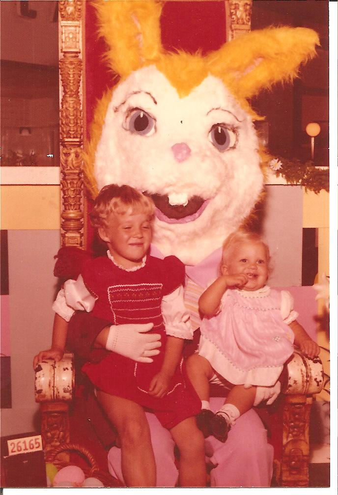 Yellow Easter Bunny 1974