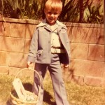 Little boy in leisure suit 1977
