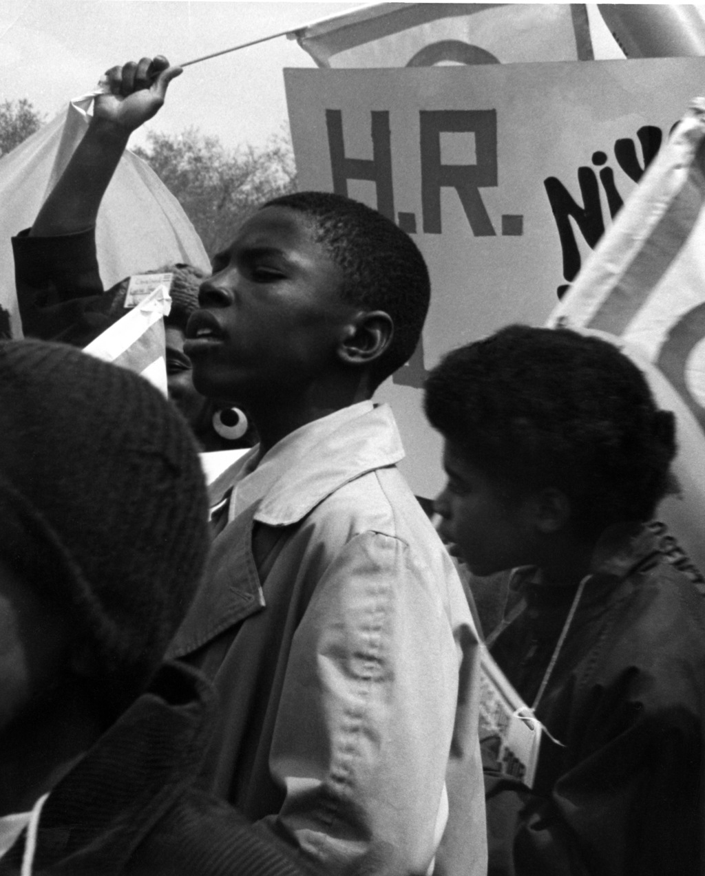 Black kids march in D.C. in 1972 for welfare reforms