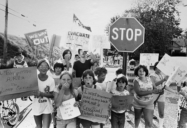 Children Protest Love Canal 1978