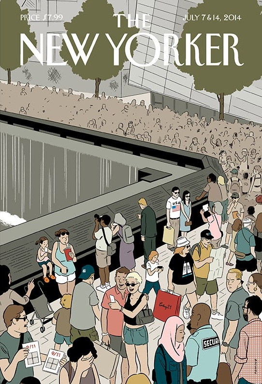 Tomine New Yorker 9 11