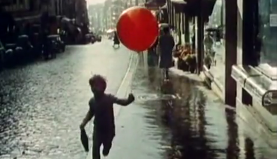 Paschal with his red balloon