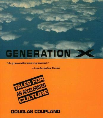 Generation X Book Tales for an accelerated culture 25th anniversary by coupland
