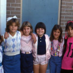 Plastic Charm Necklace, Argyle: 6th Graders (b. 1973) Rock 80s Fashion
