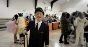My Son's Sully Sullenberger Halloween Costume