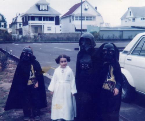 Princess Leia 1977 Darth Vaders