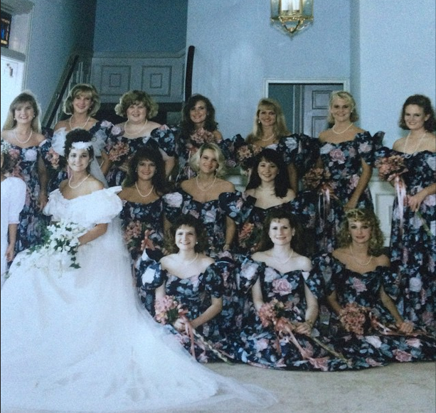 1990s bridesmaids dresses