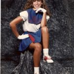 Daily Photo: Melanie Shankle, Best-Selling Author in 80s Pom-Pom Glory