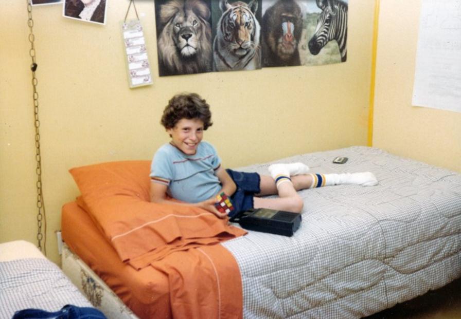 Rubik's Cube, Tape Recorder, Tube Socks: Relics of a Gen X Past