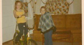 Daily Photo: Poncho and Banana Seat Bike
