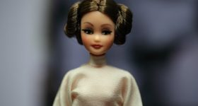Daily Photo: Vintage Pippa Doll Created To Look Like Princess Leia in Tribute to Carrie Fisher