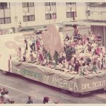 Girl Scout Float, Kansas Parade, 1976