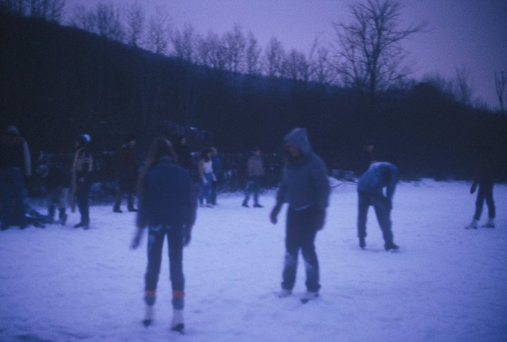 Ice Pond Skating - Mt. Upton, New York - Early 1980s