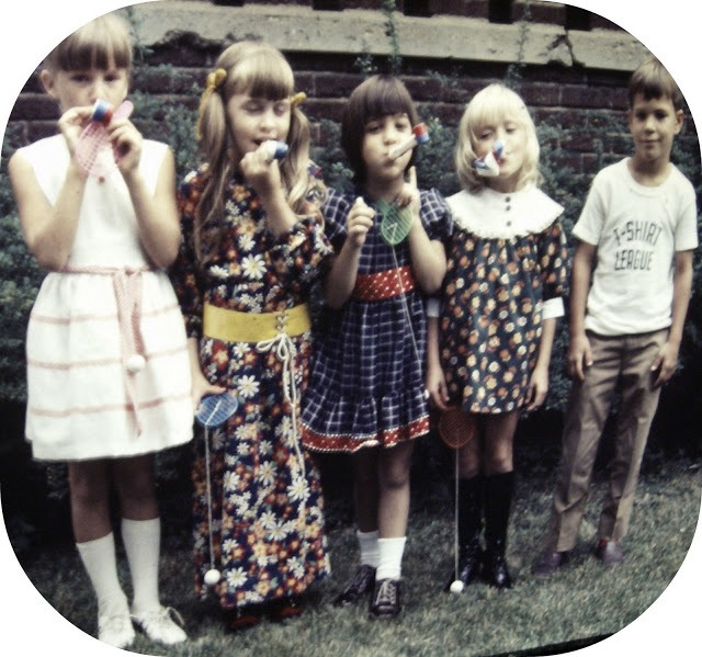 Birthday party 1971